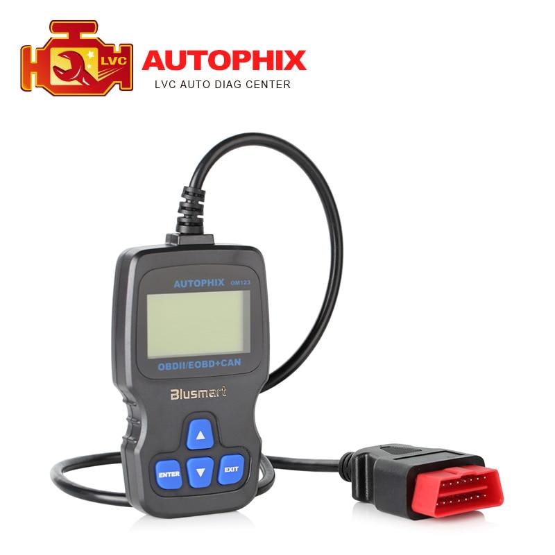 Prix pour Professionnelle AUTOPHIX OBDMATE OM123 peut OBD2 EOBD Auto Diagnostic du moteur de l'outil obd ii Code lecteur de voiture à main testeur Scanner