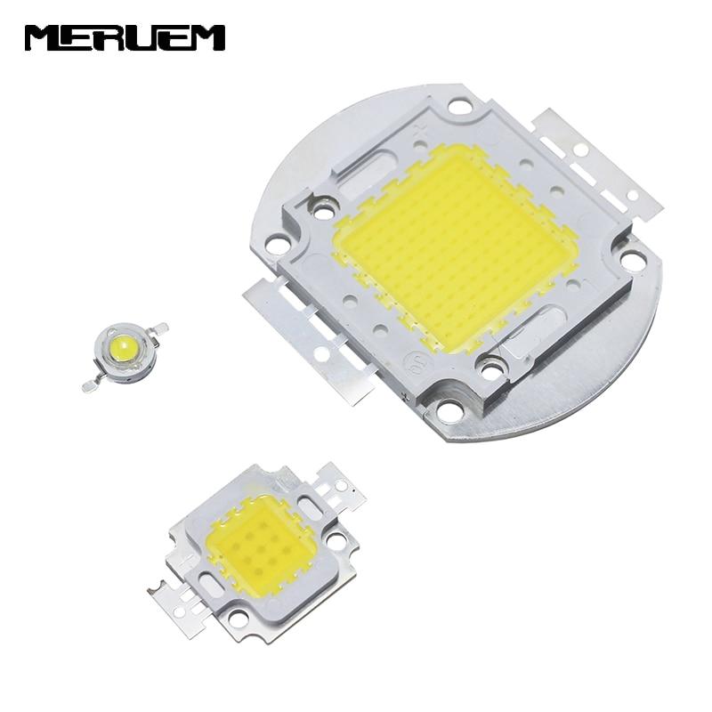 Nagy teljesítményű LED lámpa Epistar Chip Különböző színű 1W 3W 5W 10W 20W 3000W SMD COB LED integrált izzók