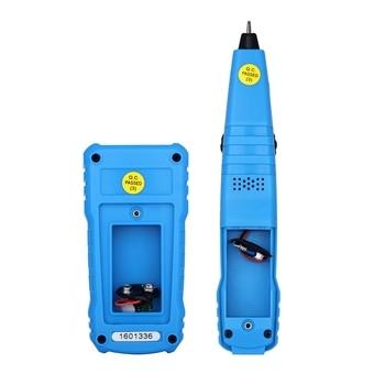 คุณภาพสูงเครื่องทดสอบสายเคเบิลเครือข่ายเครื่องตรวจจับ RJ11 RJ45 Cat5 Cat6 สายโทรศัพท์ Tracker Tracer Toner Ethernet LAN Line ...