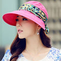 The summer sun hat big along the sun block uv female bike cover face fold empty beach outdoor sun hat