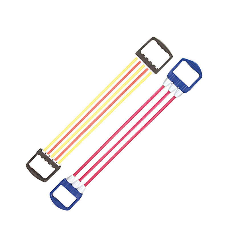 TPE tensioners Three-tube five-tube female children tensioners household fitness equipment Supplies elastic bands for fit