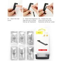 Baseus Car Air Freshener Perfume Fragrance for Auto Car Air Vent Freshener Air Conditioner Clip Diffuser Solid Perfume