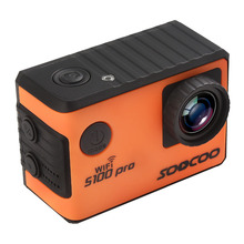 SOOCOO S100 Pro 4K 24fps 2K 30fps Wifi Touch Screen Action Camera 1080P Full HD Gyro Waterproof Outdoor Mini Sport Camcorder DV