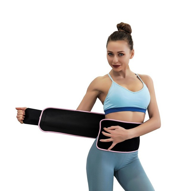 Waist / Arms / Thigh Belt Rubber Adjustable Sweating Slimming Wrap Brace Body Building Fitness Sportswear Accessories