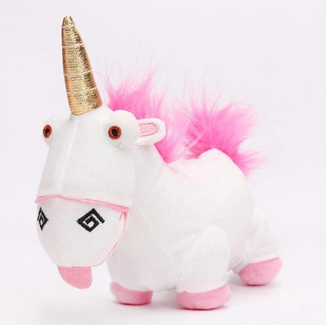 Despicable Me FLUFFY Unicorn Cute Movie Plush Toy 18cm stuffed animals & plush Toys