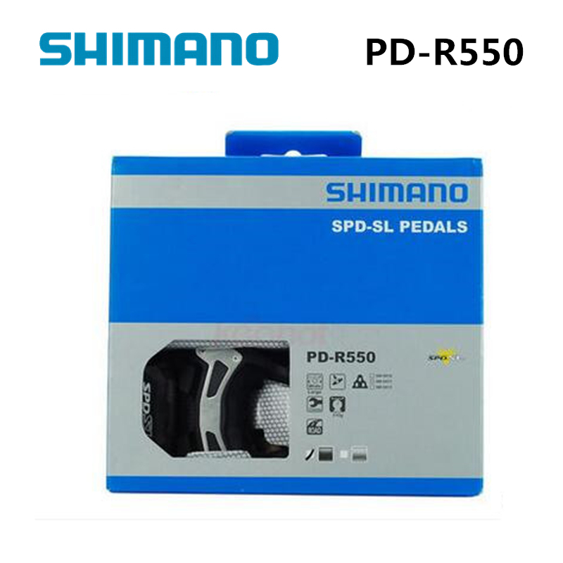 SHIMANO PD R550 Self-Locking SPD Pedals Components Using for Bicycle Racing Road Bike Parts venstpow 50pcs lot metric thread din912 m3 m4 304 stainless steel hex socket head cap screw bolts bike screw