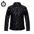 Coutudi 2016 novos casacos de inverno mulheres casaco quente preto sólido feminino estofo de poliéster fino curto parka casaco jaqueta moda feminina