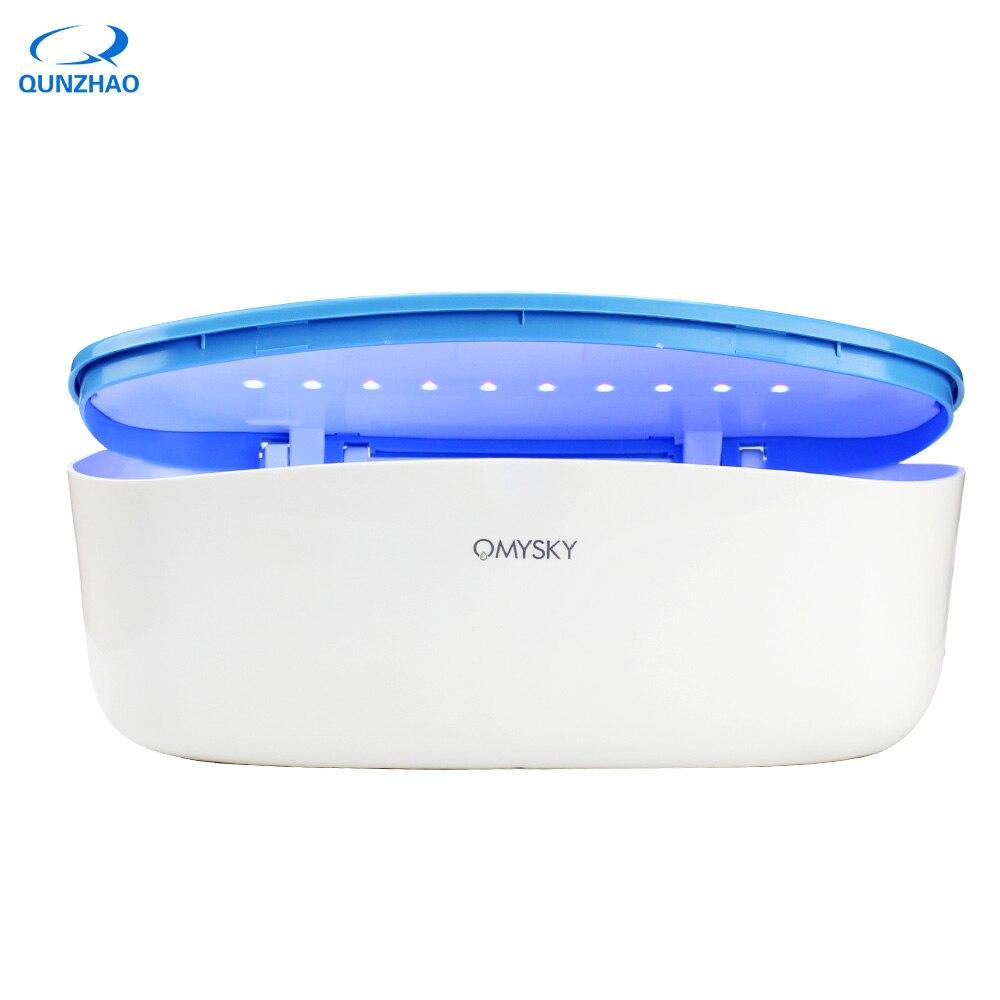 LED Nail Sterilizer For esterilizador Manicure Instruments Autoclave Nipper Tweezers Sterilizer UV Disinfection Sterilizer Box цена