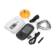 Outlife Outlife FF998 Rechargeable Wireless Fish Finder 125KHz Sonar Sensor Echo Sounder