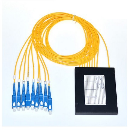 ФОТО 1 * 8 PLC box splitter fiber optic splitter 1 consists of 8 planar waveguide type SC Telecom