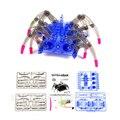 Eléctrico Araña Robot de Juguete DIY Educativo Inteligencia Ensambla Desarrollo Kids Niños Puzzle Juguetes de Acción Kits