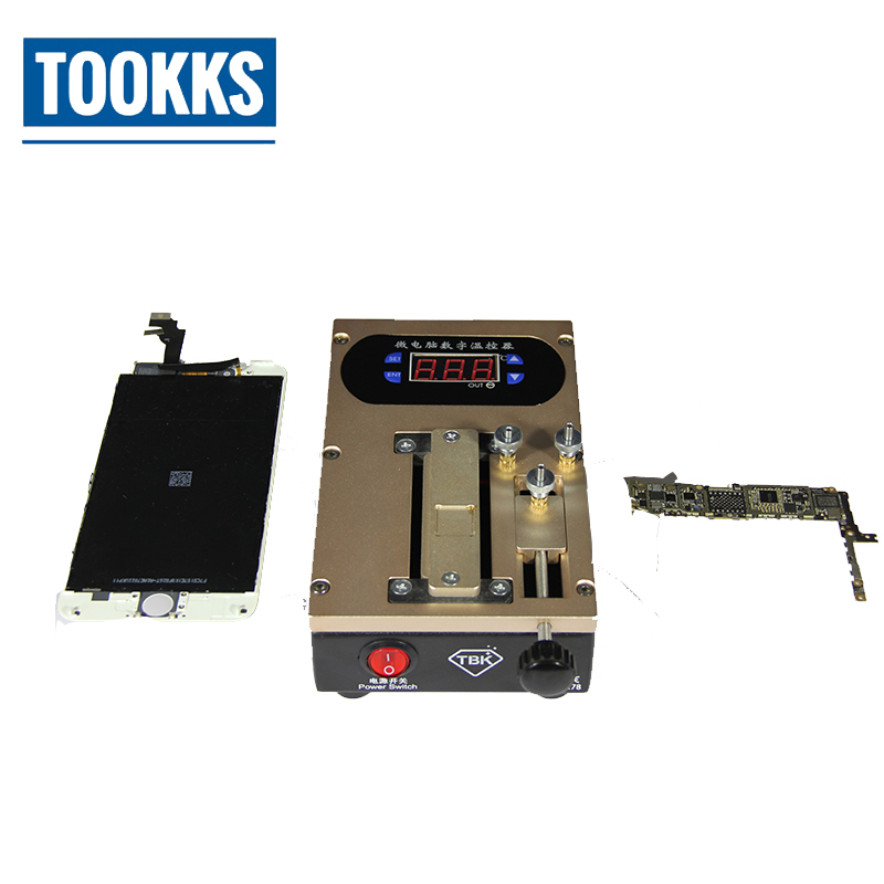 TBK-278 LCD Screen Bezel Dismantle Frame Separator Machine Chip Preheater For Smart Phone Middle Frame Separate