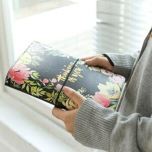 Image 2 - Lovedoki 花革カバー旅行者のノートブック標準ジャーナル日本 2019 プランナースケッチブック学校のノートブック文房具
