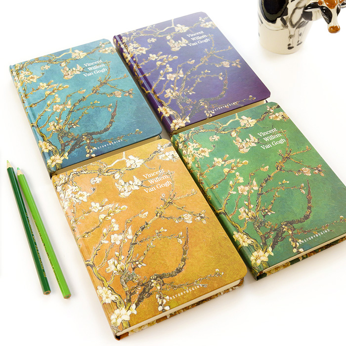 1pc A5 Horizontal Line Plum Retro Notebooks Vintage Notebook Journal Intime Cute Note Books Copybook