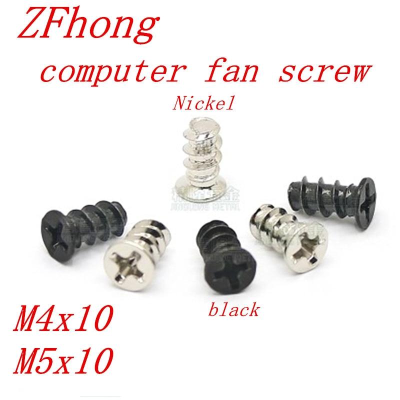 Panel Screws 30PCS//set Computer PC Case Cooling Fan Mount Screw For Fan 60mm 80mm 120mm Fad AU FT 1pcs Nails Fasteners