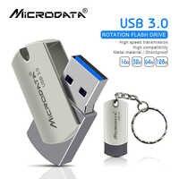 Clé USB 3.0 haute vitesse clé usb 16 GB 32 GB métal stylo lecteur 64 GB 128 GB Memriao USB 3.0 Stick avec porte-clés