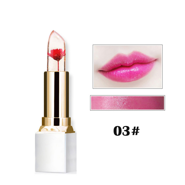 Transparent and Natural Long-lasting and Waterproof  Red Lipstick
