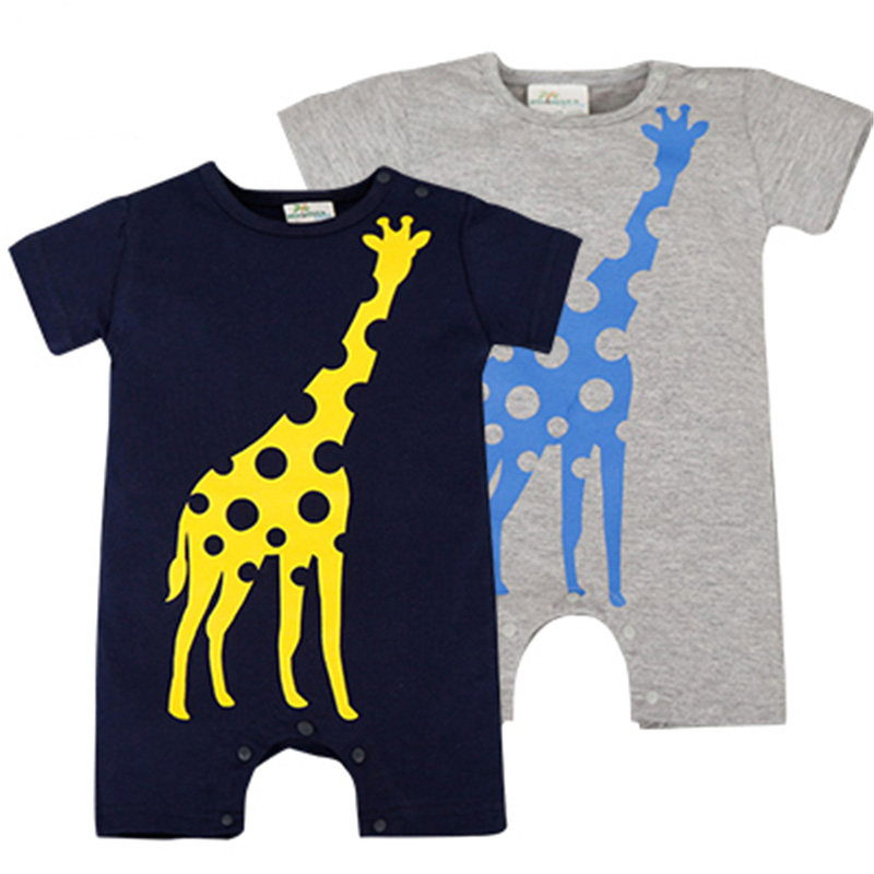 Baby Rompers Summer Baby Boy Clothes 2017 Newborn Baby Clothes Roupas Bebe Infant Jumpsuits Baby Boy Clothing Sets Kids Clothes summer 2017 navy baby boys rompers infant sailor suit jumpsuit roupas meninos body ropa bebe romper newborn baby boy clothes