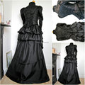 Custom-madeR-707 Vintage Costumes 1860s Civil War Southern Belle Ball wedding Dress/Gothic Lolita Dress Victorian dresses