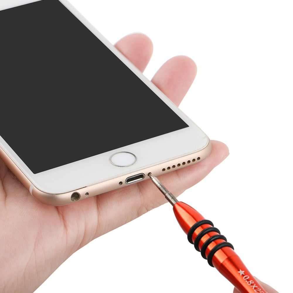 DIYFIX 1 قطعة مفك برغي دقيق Y0.6 P2 P5 Pentalobe 1.5 فيليبس ل ماك بوك المحمول الهاتف MP3 افتتاح إصلاح أدوات