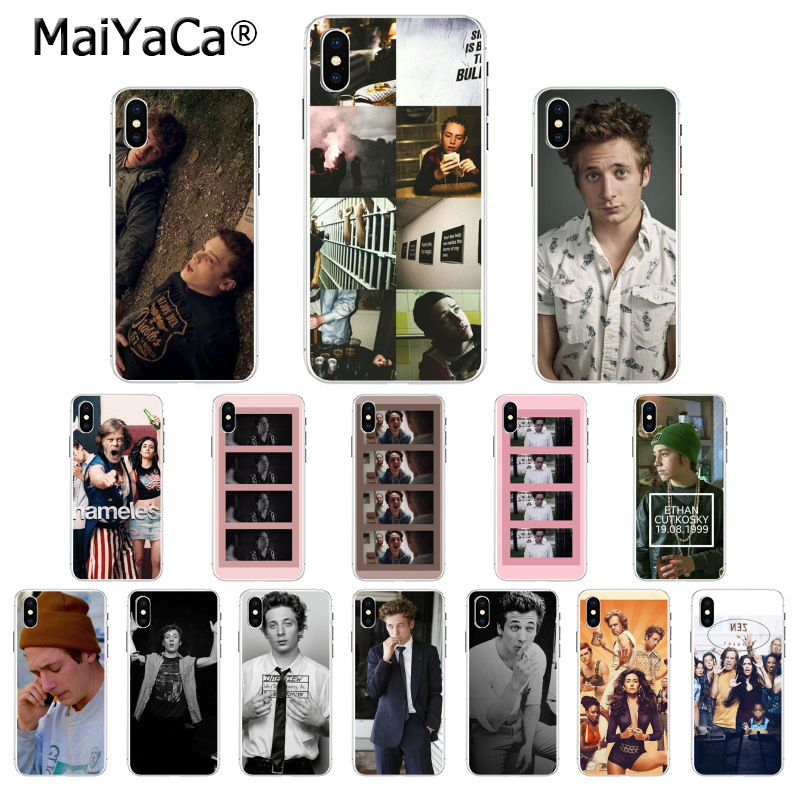 MaiYaCa Shameless tv show Pattern TPU Soft Phone Accessories Cell Phone Case for Apple iPhone 8 7 6 6S Plus X XS MAX 5 5S SE XR