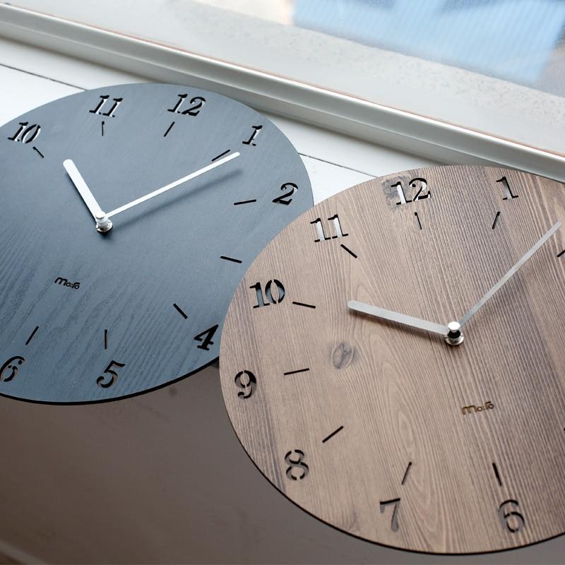 Creative Luminova Minimalist font b Wall b font font b Clock b font Simple Modern Fashion