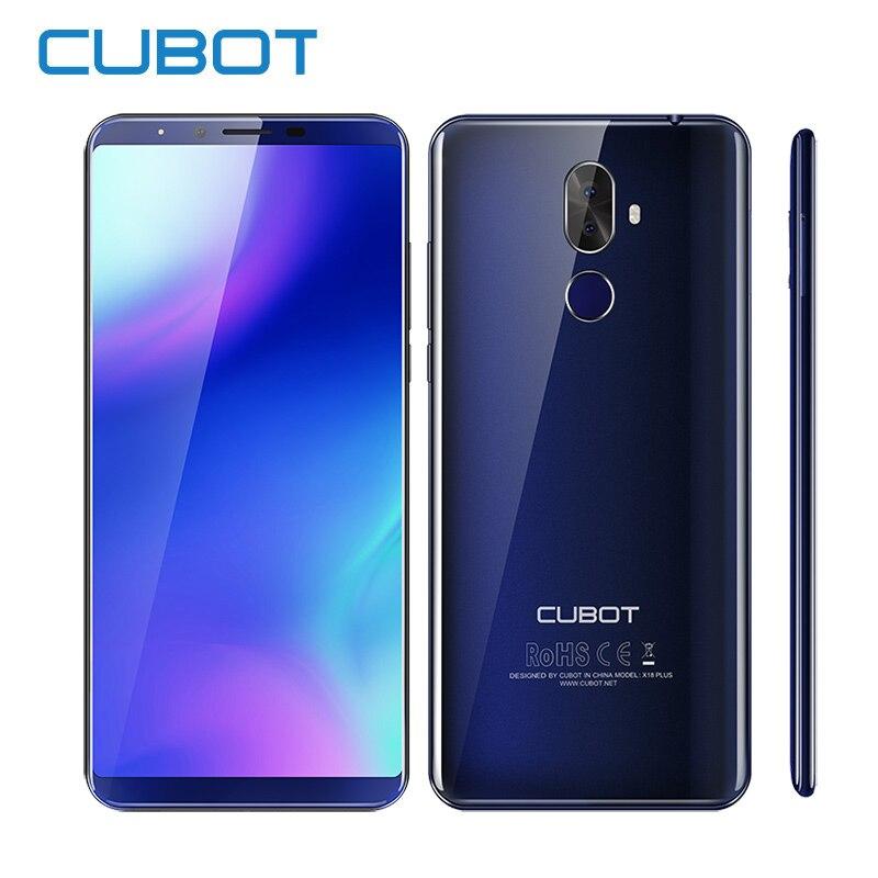 Cubot X18 Plus Android 8.0 18:9 5.99 2160*1080 FHD + Plein Écran MT6750T Octa-Core 4 gb RAM 64 gb ROM Téléphone 4000 mah 16MP Téléphone