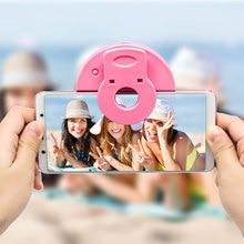 Portable Selfie Ring light Flash Led Fill Light Lamp Camera Photography Video Spotlight for iphonex 7 6sSamsung 8 Plus Xiaomi LG