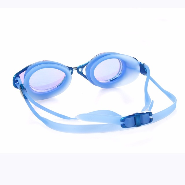 Colorful Swimming Goggles with Antifor Effect and Adjustable Strap