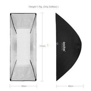 """Image 3 - Godox 50x130cm / 20""""* 51"""" Beehive Honeycomb Grid Strip Softbox Bowens Mount for Studio Flash DE300 DE400 SK300 SK400 DP600 QT600"""