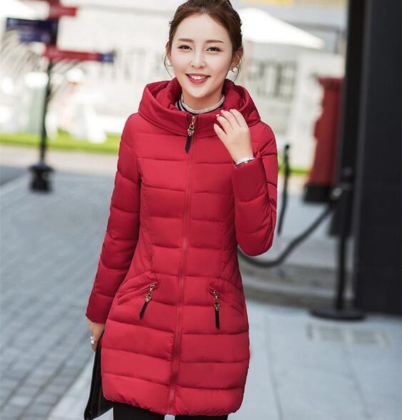 d8b173a2715 Cheap wholesale 2017 new Autumn Winter Hot sale women fashion casual YX1141  Ladies work wear against snow warm Coat Female Parka