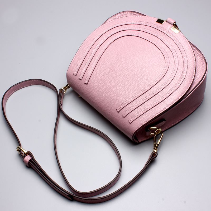 New Fashion High Quality Genuine Leather Shoulder Bag Woman Famous Brand Luxury Handbags Women Designer Totes new genuine leather fashion women handbag famous brand luxury woman shoulder bag cow leather famous designer shopping bag bolsa