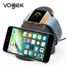VOGEK Wireless Magnet Charger for Fitbit Lonic, USB Power Charging Doc