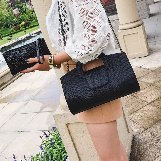 Fashion women's envelope clutch bag With Small Wallet High quality Shoulder Bags for women large Ladies Clutches 3