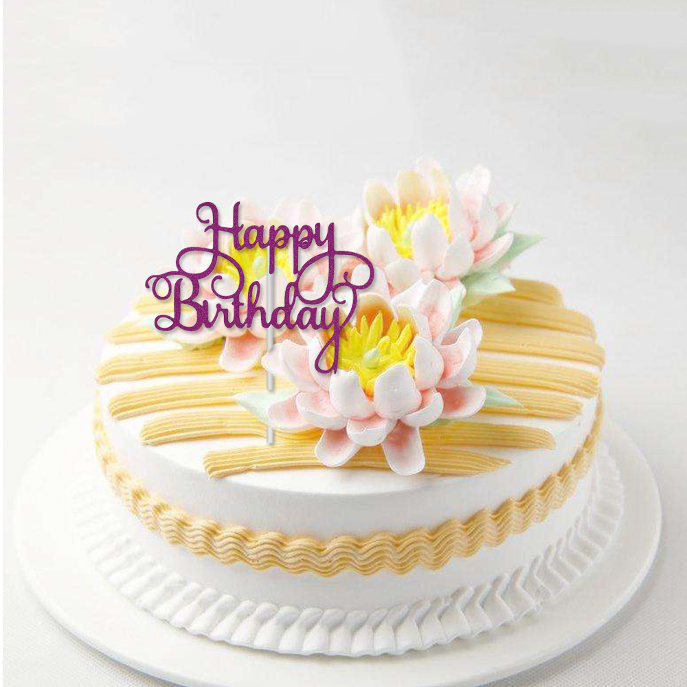 Miraculous 1 Pc Colorful New Cake Topper Happy Birthday Party Supplies Funny Birthday Cards Online Elaedamsfinfo