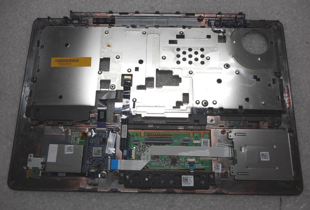 Com FPR Touchpad & Leitor de Impressões Digitais Para O original Dell Latitude E7440 7440 Descanso de Mãos Top C Capa Shell 0C98T7 C98T7