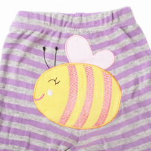 5 Pcs/Lot Cartoon Printed Cotton Baby Trousers