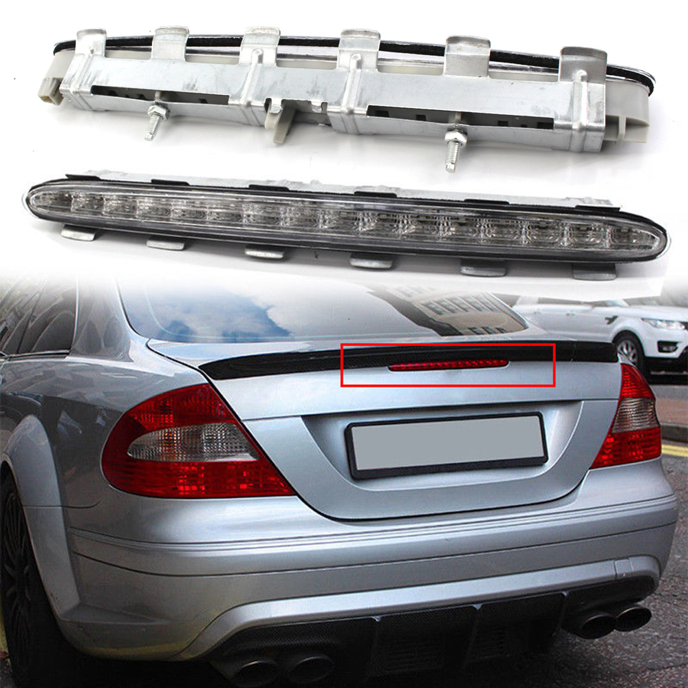 2098201056 Red Third 3rd Brake Stop LED Light For Mercedes Benz CLK W209 02-09