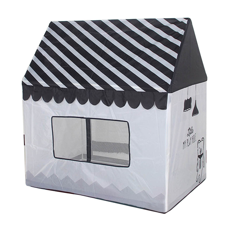 Polyester Indoor Play House Children's Day Toy Gift Detachable Assembly  Tent For Kids Toy