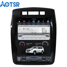 Aotsr Android 7.1 Tesla Car GPS navigation video player For Volkswagen Touareg 2010-2017 multimedia stereo one din radio