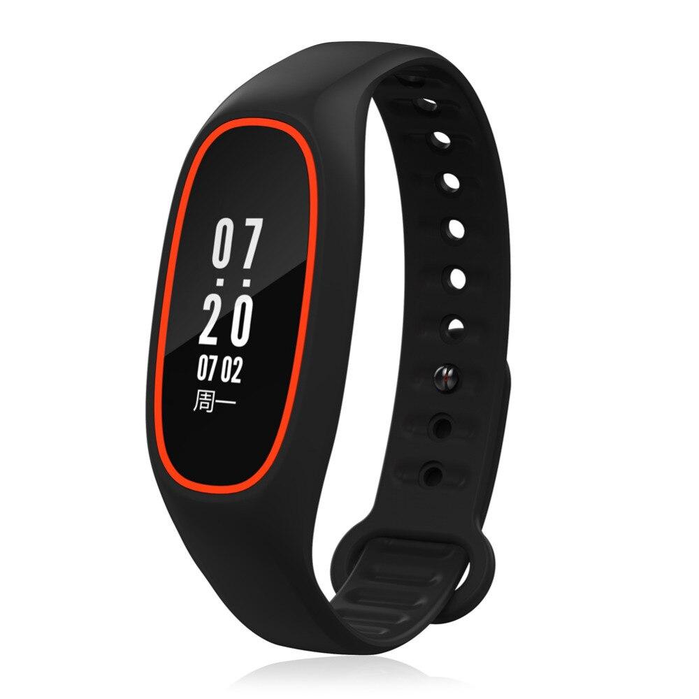 DB01 Heart Rate Monitor Bracelet Bluetooth Fitness Tracker IP68 WaterProof OLED 0 91 inch Smart Wristbands