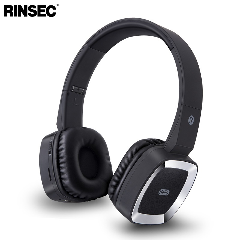 Rinsec T6 Headband Bluetooth Wireless Headphone with Microphone Stereo  Music Playing for iPhone Huawei Xiaomi Android for PC