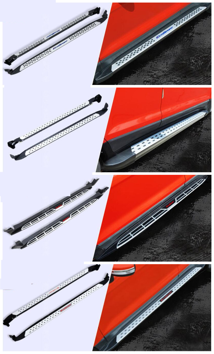For Ford EcoSport 2013.2014.2015.2016.2017 Car Running Boards Auto Side Step Bar Pedals High Quality Brand New Design Particles