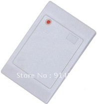DWE CC RF free shipping , low cost 125khz Waterproof EM -ID weigand 26 proximity access control rfid card reader цена