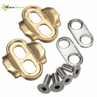 ROCKBROS Premium Cleats Bike Pedals Crank For Brothers Eggbeater Candy Smarty Acid Mallet Bike Bicycle Accessories