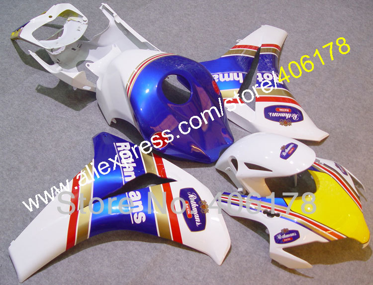 Hot Sales,CBR1000RR 2008 2009 2010 2011 For Honda CBR 1000 RR Fireblade 08-11 Rothmans Motorcycle Fairings (Injection molding) отсутствует metal supply & sales 2010