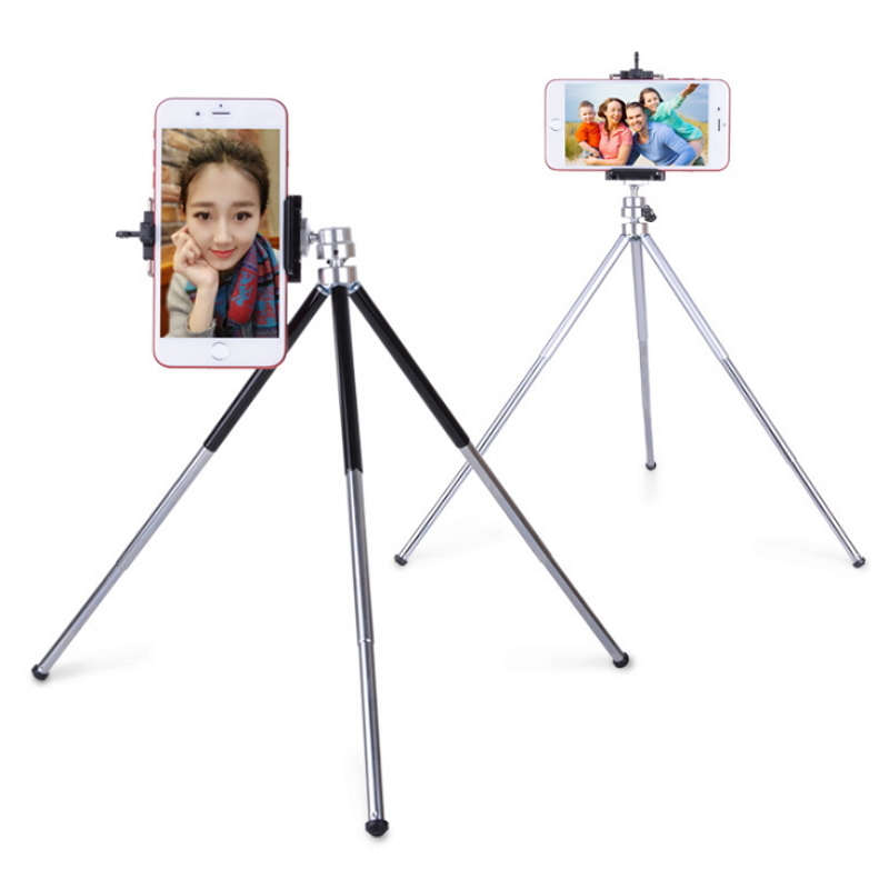 Retractable 3 Sections Adjustable Legs Mini Tripod Stand Aluminum Camera Extendable Monopod For Camera Camcorder Smartphone low price monitor head tripod camera telescope mini stand adjustable tripod free shipping page 3