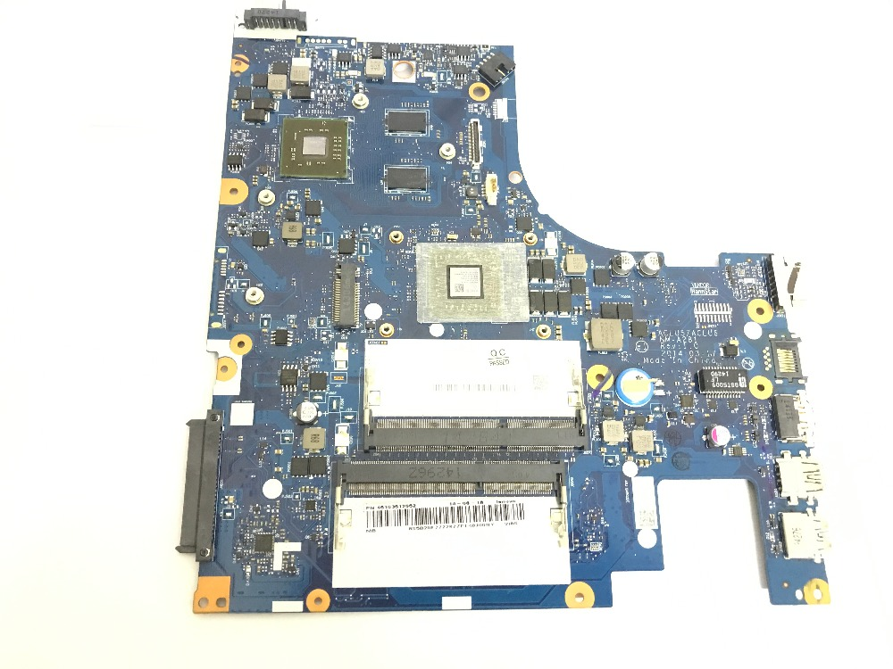 KEFU ACLU5 / ACLU6 NM-A281 LAPTOP MOTHERBOARD FOR LENOVO G50-45  NOTEBOOK ONBOARD A6 PROCESSOR +VIDEO CARD(STOCK,QUALIFIED OK)