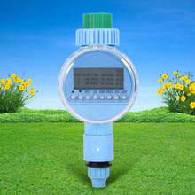 1x AC Garden Auto Water Saving Irrigation Controller LCD Digital Watering Timer