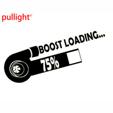 BOOST LOADING ashion Personality Creative Funny Modified Turbo Sports Car/Van/Bumper/Window Vinyl Sticker